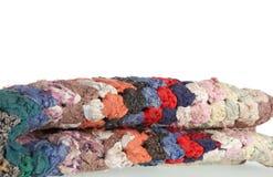 Gedraaid tapijt Stock Fotografie