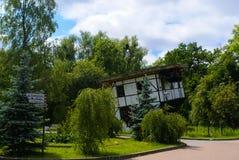 Gedreht Haus Lizenzfreies Stockbild