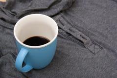 Gedronken niet genoeg koffie royalty-vrije stock foto