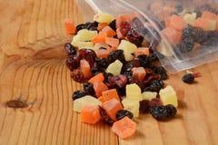 Gedroogd fruit Royalty-vrije Stock Afbeeldingen
