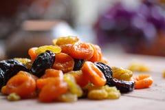 Gedroogd fruit Stock Foto