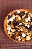 Gedroogd fruit, noten en zaden Royalty-vrije Stock Afbeeldingen