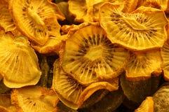 Gedroogd fruit van kiwifruit Stock Afbeeldingen