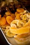 Gedroogd fruitstilleven Stock Afbeelding