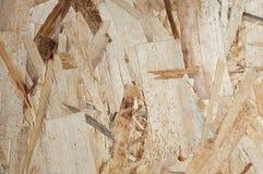 Gedrukte houten spaanders van verschillende grootte stock fotografie