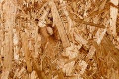 Gedrukte houten textuur (spaanplaat) Royalty-vrije Stock Foto