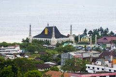 Gedung Islamic Center, Ambon City, Ambon Island, Maluku, Indonesia. Royalty Free Stock Photo