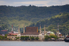 Gedung Islamic Center, Ambon City, Ambon Island, Maluku, Indonesia. Stock Images