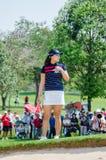 In Gee Chun van Zuid-Korea in Honda LPGA Thailand 2016 Stock Foto's