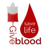 Geef bloed Stock Foto's