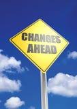 Verandering vooruit Stock Afbeeldingen