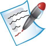 Geef pictogram uit Royalty-vrije Stock Foto