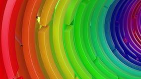 Geef van 3D Geometrische Abstracte Achtergrond terug royalty-vrije illustratie