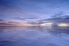 Geeft de landschaps Natuurlijke hemel terug Stock Afbeelding