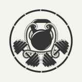 Geeignetes Emblem Stockfotos