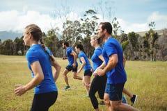 Geeignetes Leutelaufen Stockfotografie
