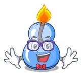 Geek alcohol burner character cartoon. Vector illustration vector illustration