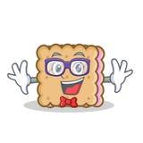 Geek biscuit cartoon character style Stock Photos