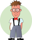 Geek Boy Royalty Free Stock Images