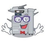 Geek copier machine isolated in the cartoon. Vector illustration vector illustration