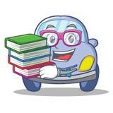 Geek cute car character cartoon Stock Photo