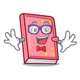 Geek diary character cartoon style. Vector illustration vector illustration