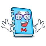 Geek education character cartoon style. Vector illustration stock illustration