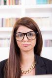 Geek femminile Fotografia Stock Libera da Diritti