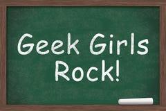 Geek Girls Rule Stock Images