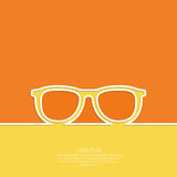 Geek glasses icon Royalty Free Stock Images