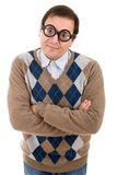 Geek glasses Stock Images