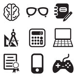 Geek Icons Royalty Free Stock Photo