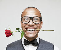 Geek in Love Stock Photography
