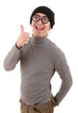Geek man Stock Photos