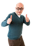 Geek man Royalty Free Stock Photography