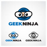 Geek Ninja Royalty Free Stock Photos