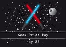 Geek pride day vector Stock Photos