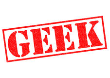 GEEK Rubber Stamp Royalty Free Stock Photo