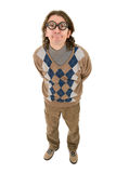 Geek teacher Royalty Free Stock Images