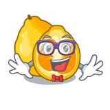 Geek ugli in the mascot fruit basket. Illustration vector stock illustration