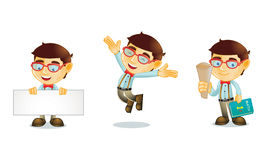 Geek 1. For your business royalty free illustration