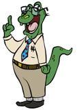 Geeky 'Gator Royalty Free Stock Image