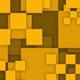 Geel abstract ontwerp als achtergrond Royalty-vrije Stock Afbeeldingen
