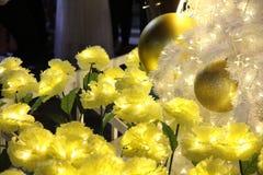 Geel bloemnieuwjaar royalty-vrije stock fotografie