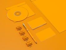 Geel Collectief identiteitsmodel Royalty-vrije Stock Afbeelding