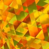 Geel Diamond Reflections Royalty-vrije Stock Afbeeldingen