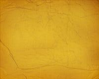 Geel document Als achtergrond Grunge Stock Afbeelding