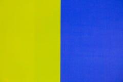 Geel en blauw voor achtergrond Royalty-vrije Stock Fotografie