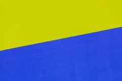 Geel en blauw voor achtergrond Royalty-vrije Stock Afbeeldingen