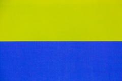 Geel en blauw voor achtergrond Stock Afbeeldingen